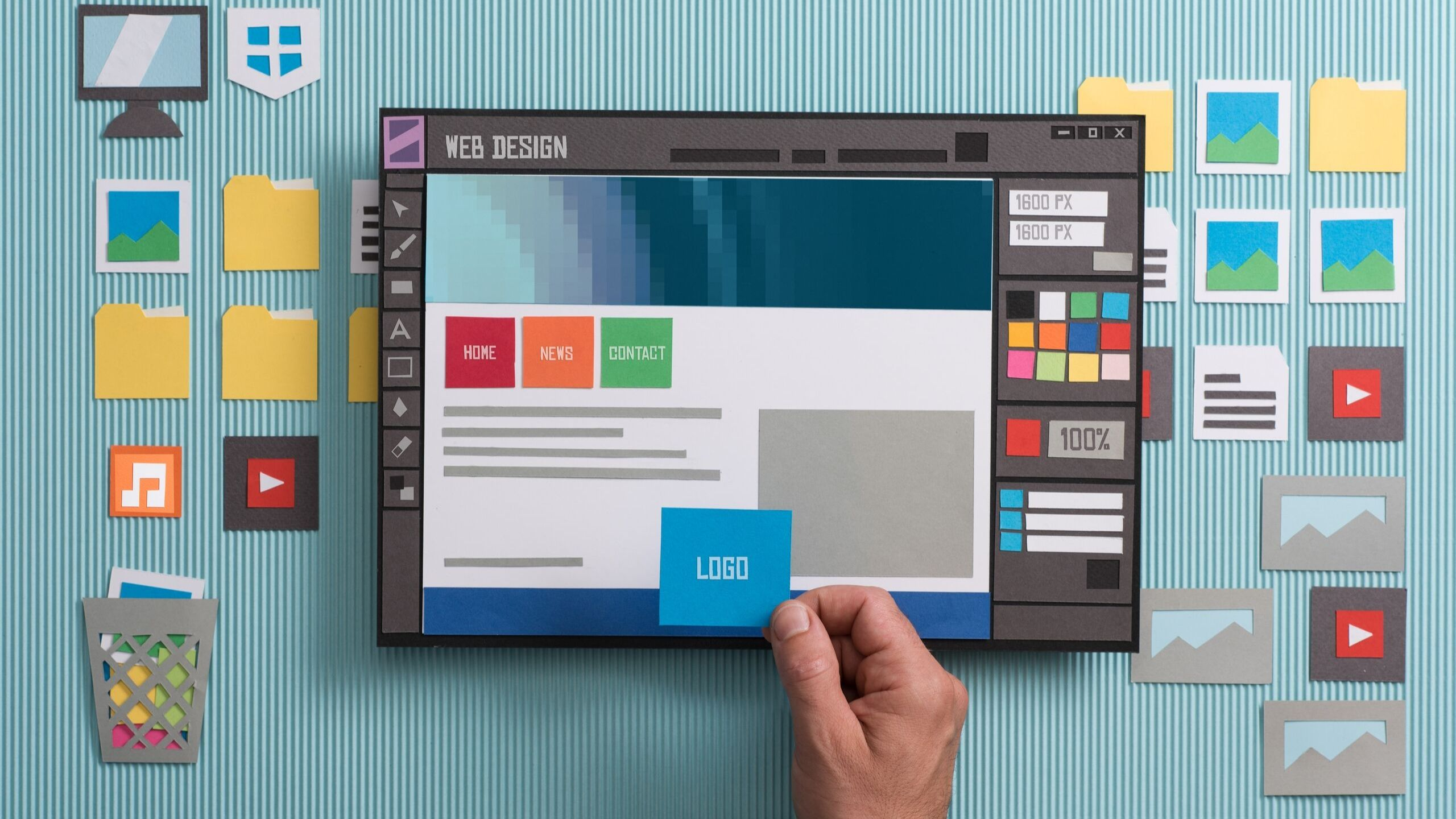 Web Designing With Effective Tools