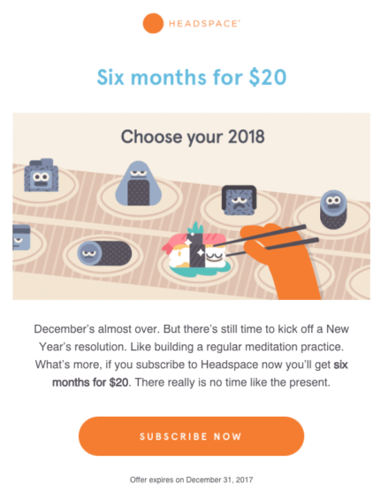 sfwpexperts.com-headspace-email-marketing-campaign-examples